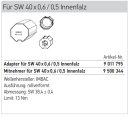 Somfy Adapterset für Achtkantwelle SW 40