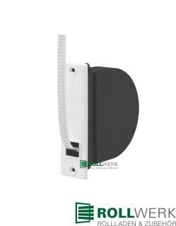 Mini Einlass-Gurtwickler mit 5 m Gurt und Mauerkasten