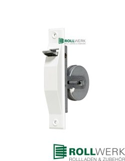 Mini Einlass-Gurtwickler ohne Mauerkasten, bis 18 mm Gurt