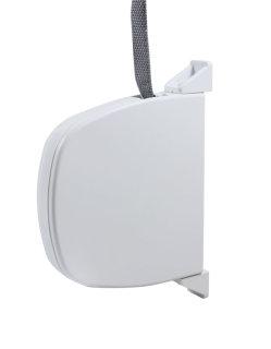 Mini Gurtwickler in weiß mit 5 m Gurt, L: 148 mm
